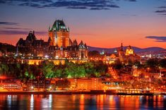 Canada is the best choice for that. Montreal or Quebec to Vancouver? Buy yourself a cheap car, and go! Old Quebec, Quebec City, America And Canada, North America, Ottawa, Montreal, Vancouver, Toronto, Samuel De Champlain