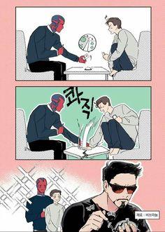 All Couple Avengers - No - Wattpad Avengers Humor, Avengers Comics, Funny Marvel Memes, The Avengers, Dc Memes, Marvel Jokes, Funny Comics, Superfamily Avengers, Spideypool