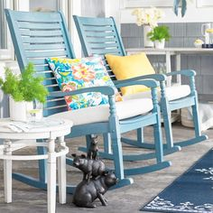 Settle into the generous proportions and comfortable contours of the Nantucket outdoor rocking chair: we've updated the classic front porch rocker with style, comfort and value in mind. Our proprietary design brings you a seat and seat back composed of closely spaced, horizontal slats detailed with gentle contours that are made to support you in all the right places. Slender, curved arms finish with elegant turned details, for a charm that's evocative of traditional times, but i...