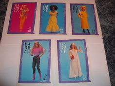 """Lot of 5 Barbie Trading Cards 1981 and 1982 Cards Measure 5"""" x 3 1 2"""" Nice   eBay"""