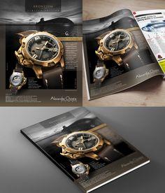 Akula Class Submarine, Logo Branding, Brand Identity, Brand Campaign, Watch Case, Print Ads, Omega Watch, Rolex Watches, Instruments