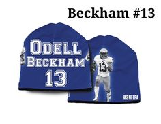 New York Giants Odell Beckham Jr Beanie - Lightweight (backorder)
