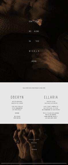 Doomed Ships: Ellaria Sand + Oberyn Martell #got #asoiaf