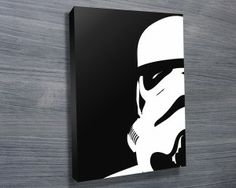 Storm Trooper from $26.00. This canvas art print illustrates a stormtrooper from Star Wars that is surely a hit with any manchild. As with all art on this site, we offer these prints as stretched canvas prints, framed print, rolled or paper print or wall stickers / decals. http://www.canvasprintsaustralia.net.au/  #CanvasprintBrisbane #photosoncanvasPerth  #CanvasprintsMelbourne