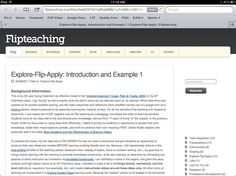Explore-Flip-Apply: Introduction and Example 1  http://flipteaching.com/files/0e82357541a89a8888c1a7c498c1c201-4.php#Pin By:Pinterest++ for iPad#