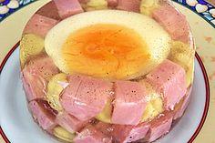 Eier in Aspik
