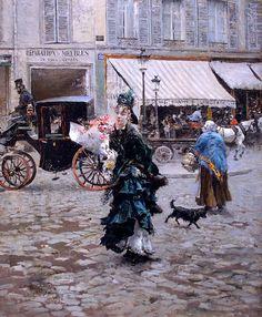 Giovanni_Boldini  Crossing_the_Street