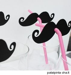 party moustache