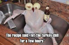 Thanksgiving. You're doing it right