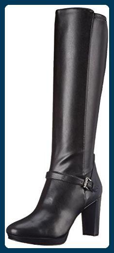 Nine West Kacie Damen US 10 Schwarz Mode-Knie hoch Stiefel - Stiefel für frauen (*Partner-Link)