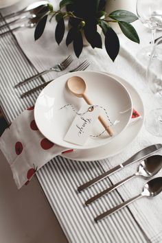 tabletop for an intimate italian dinner party | via coco+kelley