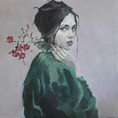 """Røde nelliker"" by Ingebjørg Frøydis Støyva Face Art, Art Faces, Contemporary Art, By, Artist, Artwork, Painting, Inspiration, Instagram"