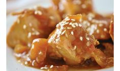 Sesame Honey Chicken Recipe by Holly Clegg - The Daily Meal