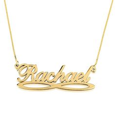 Name Necklace Jewelry Pendant Infinity Name Necklace by GoldenRing2k16 on Etsy