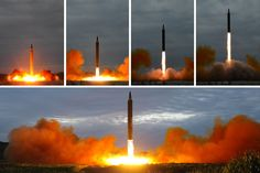 Hwasong-12 launch August 29, 2017