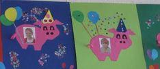 werkjes begin groep 3 - Google zoeken Happy Birthday Kind, Art Birthday, I Love School, Back To School, School Classroom, Kindergarten, Calendar, Crafts, Birthday