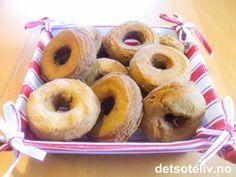 Smultringer | Det søte liv Doughnut, Protein, Desserts, Food, Tailgate Desserts, Deserts, Essen, Postres, Meals