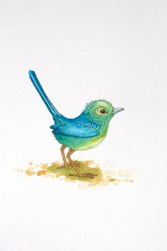 Bird illustration by Laura Kirste Campbell
