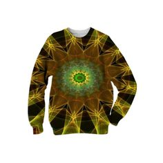 : Universal Kaleidoscope II : Sweatshirt from Print All Over Me  /  #printalloverme #fantasymall #onlinemall   #fantasygifts #fantasyshopping #CorianderShea #mandala