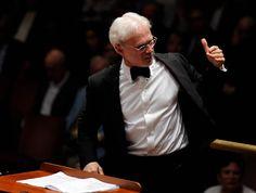 John Adams conducting  #conductor