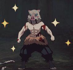 I select the hottest, cutest, and sexiest pictures of Inosuke, my fav character of Demon Slayer Kimetsu no Yaiba Anime Meme, Otaku Anime, Anime Guys, Manga Anime, Anime Art, Slayer Meme, Demon Slayer, Fanarts Anime, Anime Characters