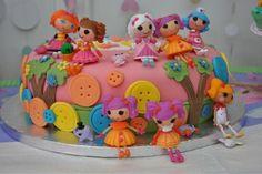 Emily's lalaloopsy cake.