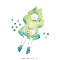 イラスト 水彩 illustration watercolor instagram