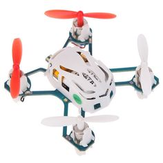 Hubsan NANO Q4 H111 4-CH Mini Remote Control R/C Quadcopter Aircraft Toy for Children - White + Red From 29,95 for Euro 23,95