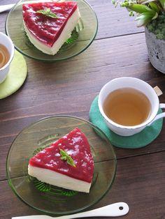 はちみつとフランボワーズのババロアケーキ by 小澤 朋子 / レシピサイト「Nadia | ナディア」プロの料理を無料で検索