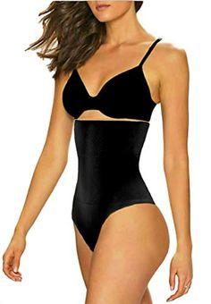 e5bcc687f0817 ShaperQueen 102 Thong Best Womens Waist Cincher Body Shaper Trainer Girdle  Faja Tummy Control Underwear Shapewear (Plus Size)