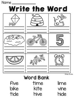 Long O activities and worksheets Long Vowel Worksheets, 1st Grade Worksheets, Writing Worksheets, Kindergarten Worksheets, Kids Worksheets, Phonics Blends, Phonics Rules, Phonics Lessons, Spelling Rules