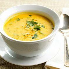 10 Healthy Squash Recipes: Curried Butternut Squash Soup #recipe