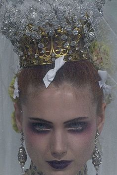 Fairytale fashion fantasy / karen cox.  ♔ Crown crown.