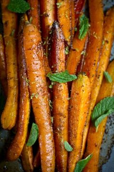 Cumin Roasted Carrots Simple is often best, and this is a great example of how a basic vegetable - the carrot - turns into something remarkable with the right treatment. Try this with parsnips or Brussels sprouts, too, because it works well with many roasted vegetables. The sweetness of the coconut oil and coconut palm nectar is the ideal balance to the warmth of the cumin and the spice of the chipotle powder.  Mediterranean Rice Noodles