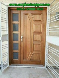 Home Front Door Wooden Design. 3000 Square Feet Double Floor Traditional Home Design. The Front Of The Barn Includes Round Top Dutch Doors . Home and Family Front Door Design Wood, Home Door Design, Double Door Design, Door Gate Design, Door Design Interior, Wooden Front Doors, Wooden Door Design, Double Doors Exterior, Wood Exterior Door