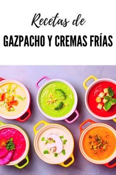 Gazpacho, Vegetarian Recipes, Cooking Recipes, Healthy Recipes, Bon Appetit, Healthy Lifestyle, Food Porn, Healthy Eating, Yummy Food