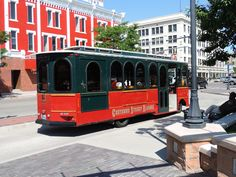 In Cheyenne, you can rent a trolley to transport your wedding party anywhere you'd like to go!