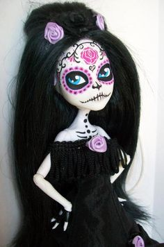 day of the dead dolls monster high - Google Search