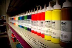 Lukas acrylic paints
