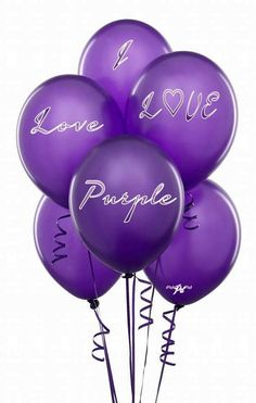 Deep Purple 12 Inch Thickened Latex Balloons, Pack of Premium Helium Quality for Wedding Bridal Baby Shower Birthday Party Decorations Supplies Ballon Baloon Thinken The Purple, Purple Rain, Purple Lilac, All Things Purple, Shades Of Purple, Purple Stuff, Periwinkle, Bright Purple, Malva