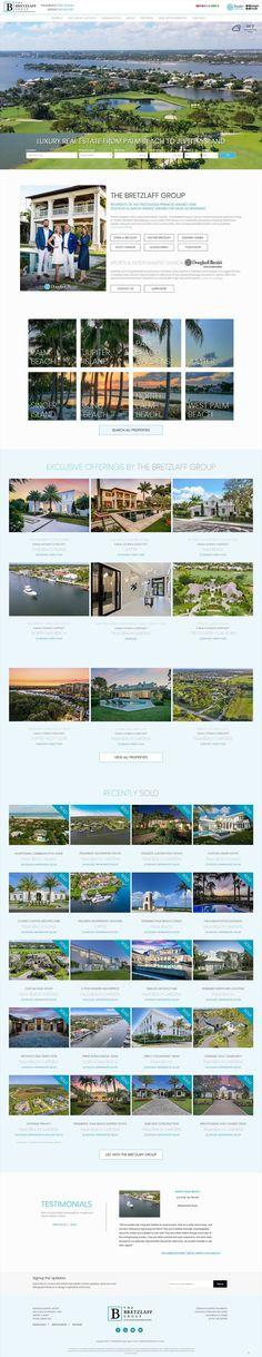 Custom Luxury Real Estate Web Design Simon Property Group, Real Estate Companies, Property Management, Luxury Real Estate, Website Template, Custom Design, Web Design, Website Ideas, Image