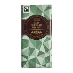 M&S Dark Chocolate With Mint 100g