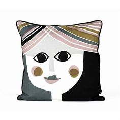 Make your bedroom feel alive and cozy with this cool pillow from Ferm Living. Combine it with thr pillow Mr. and get a full face lift!