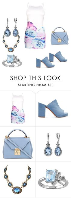 """Summer dress"" by angelandmila ❤ liked on Polyvore featuring Robert Clergerie, Mark Cross, Givenchy and Laura Ashley"