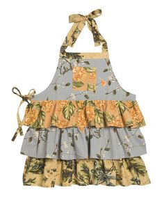 Take a look at this Smoke Willow Branch Apron by April Cornell on #zulily today! $10.99