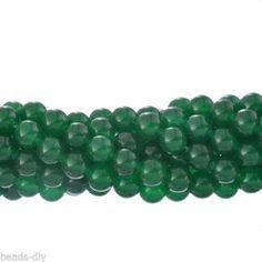 4Strand Green Aventurine Loose Stone Beads Jewelry Making DIY Round 4mm