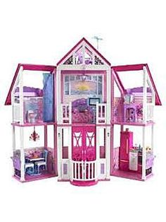 Barbie A Frame house