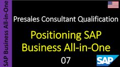 SAP - Course Free Online: 07 - Positioning SAP Business All-in-One