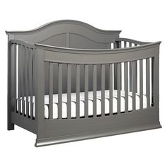 Davinci Meadow 4-in-1 Convertible Crib  With Toddler Bed Conversion Kit in Slate Finish $349 Greenguard Certified. Lead and Phthalate safe. Converts to toddler bed (toddler bed conversion kit included!), and daybed and full size bed (conversion kits sold separately). holds up to 50 lbs. as toddler bed.