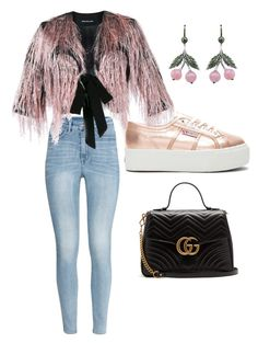 #PolyPresents: Statement Shoes by lauradis on Polyvore featuring polyvore, fashion, style, MARCOBOLOGNA, H&M, Superga, Gucci, Axenoff Jewellery, clothing, contestentry and polyPresents